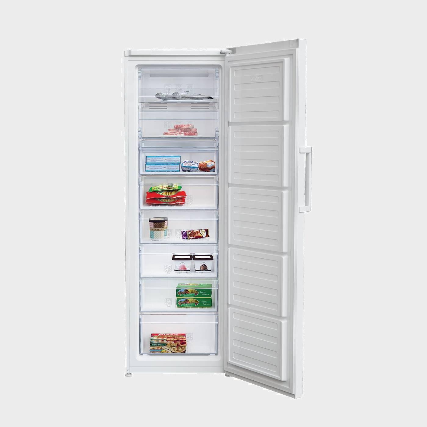 Congelador vertical beko rfne 312k21w nuevo ebay for Congelador vertical pequeno