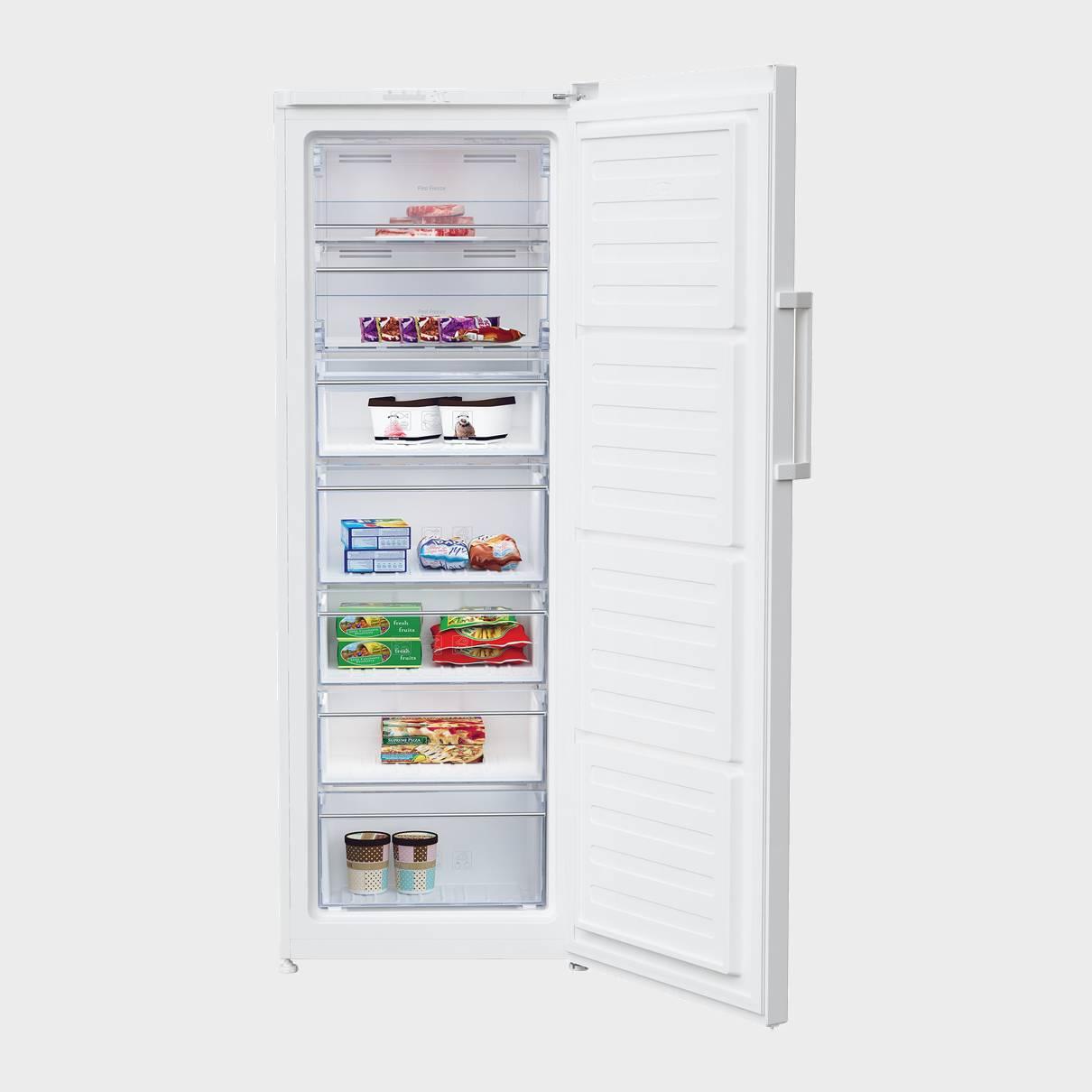 congelador vertical beko rfne290l21w no frost 171 4x59 5 a. Black Bedroom Furniture Sets. Home Design Ideas