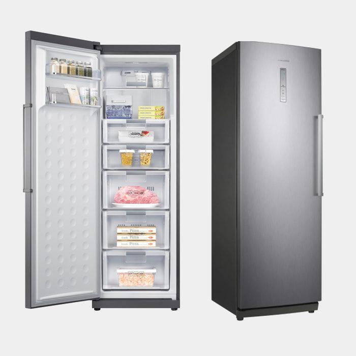 Congelador vertical samsung rz28h6165ss 180x60 nf a inox for Congelador vertical pequeno