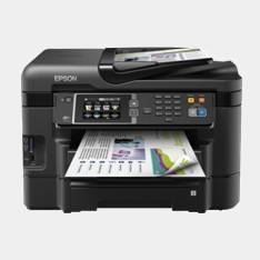Epson Wf3640dtwf Muntifuncion inyeccion color Workforce Fax A4