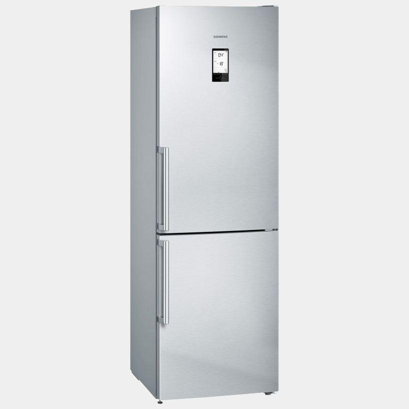 siemens kg36nai4p frigorifico combi inox de 186x60 no frost a. Black Bedroom Furniture Sets. Home Design Ideas