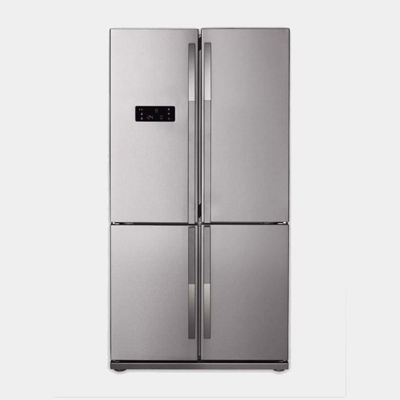 Beko gne114612x frigorifico americano inox 182x92 a - Frigorifico americano medidas ...