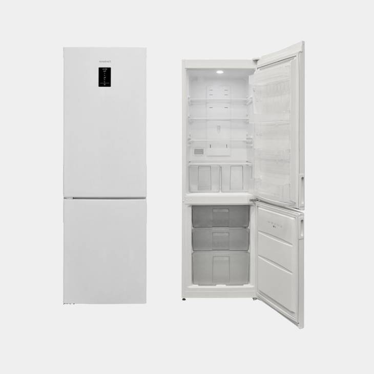 corbero cc1865ewt frigo combi no frost 185x60 a. Black Bedroom Furniture Sets. Home Design Ideas