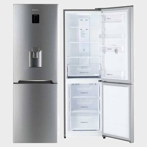 frigo combi daewoo rn365dpt 187x60 a nf inox dis dis. Black Bedroom Furniture Sets. Home Design Ideas