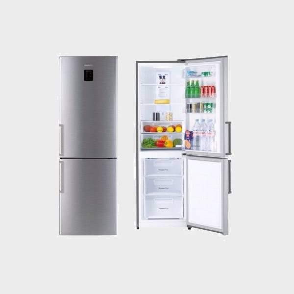 frigorifico combi daewoo rn460npta inox 187x60 a no frost. Black Bedroom Furniture Sets. Home Design Ideas