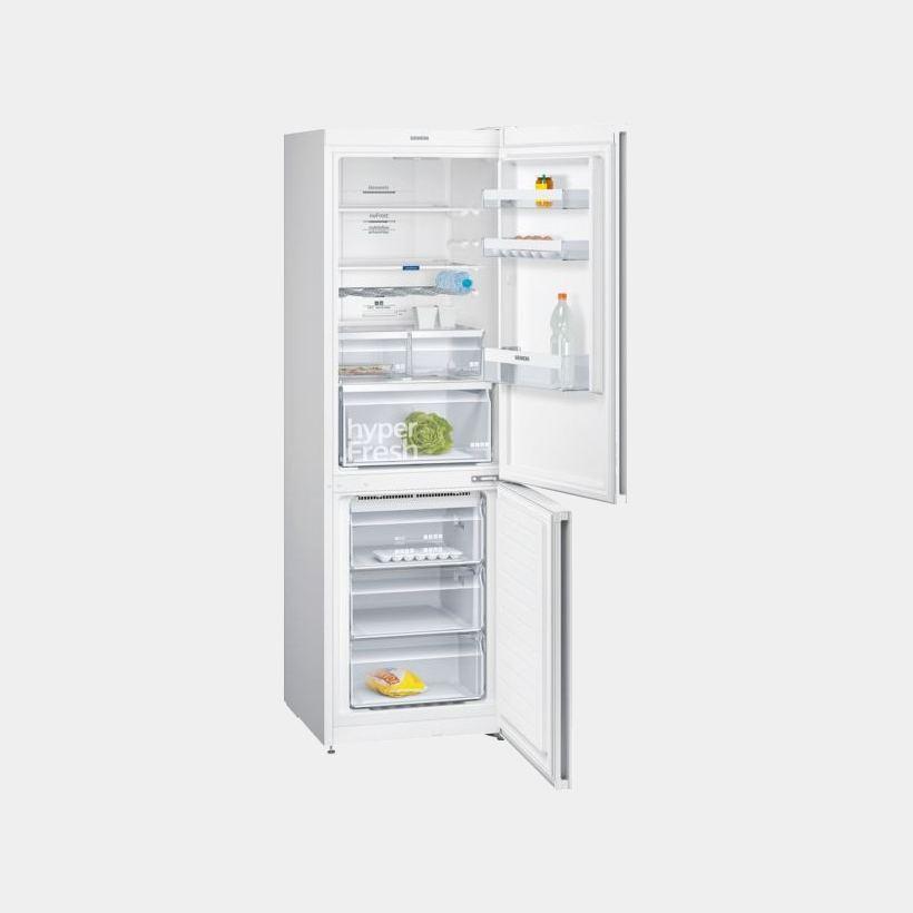 siemens kg36nxw3a frigorifico combi 186x60 no frost a. Black Bedroom Furniture Sets. Home Design Ideas