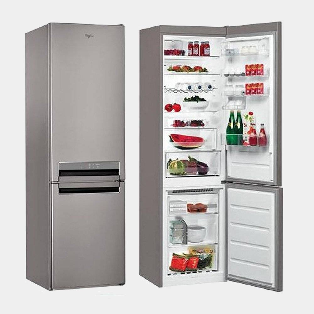 whirlpool bsnf9452ox inox frigo combi no frost 201x59 5 a. Black Bedroom Furniture Sets. Home Design Ideas
