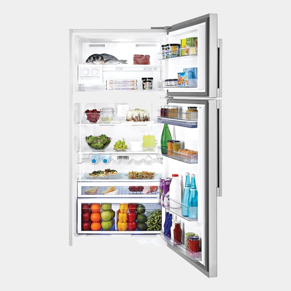 beko dn161220dx frigorifico inox de 185x84 no frost a. Black Bedroom Furniture Sets. Home Design Ideas