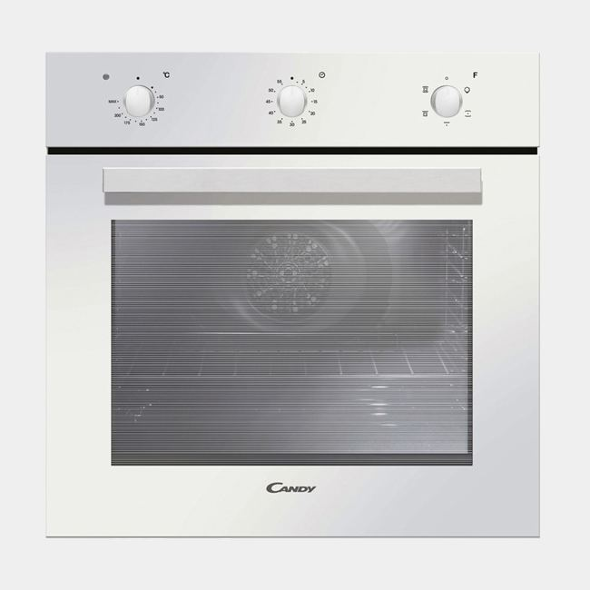 Candy fpe 502 6 w horno multifuncion cristal blanco for Horno cristal blanco