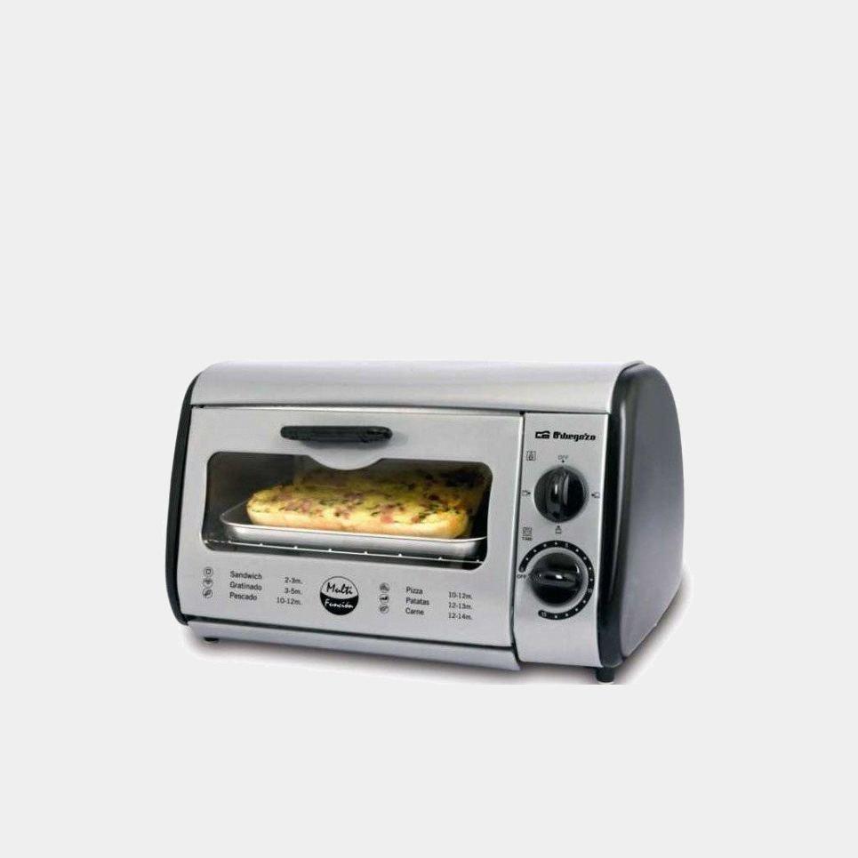 Orbegozo ho810a silver horno tostador de sobremesa de 8ls - Hornos de sobremesa orbegozo ...
