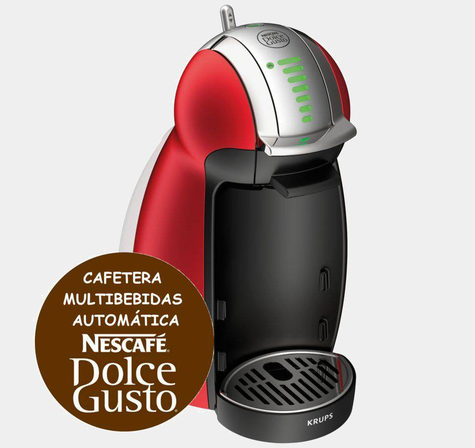 Cafetera Krups Kp1605ib Dolce Gusto Genio 2 Roja Me