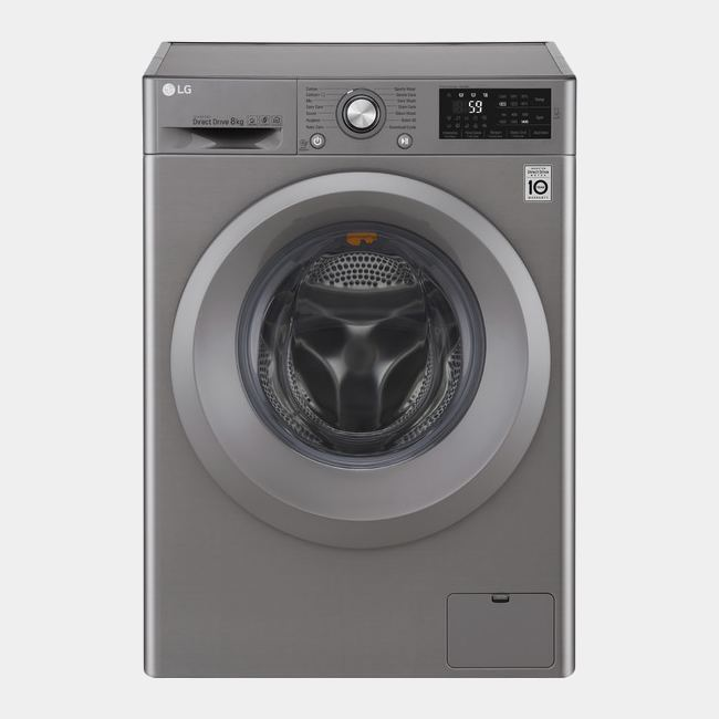 Lg f4j5qn7s lavadora inox de 7kg y 1400rpm clase a - Opiniones lavadoras lg ...