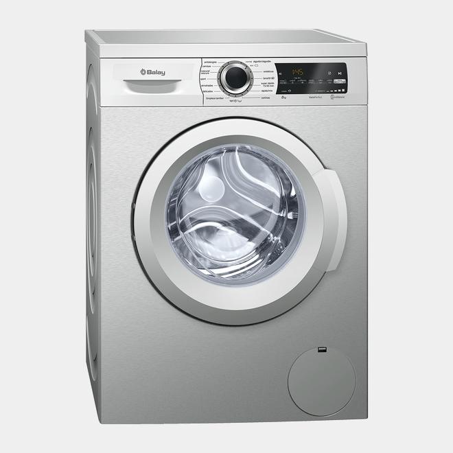 Balay 3ts986xt lavadora inox de 8kg y 1200rpm a for Mueble lavadora carrefour