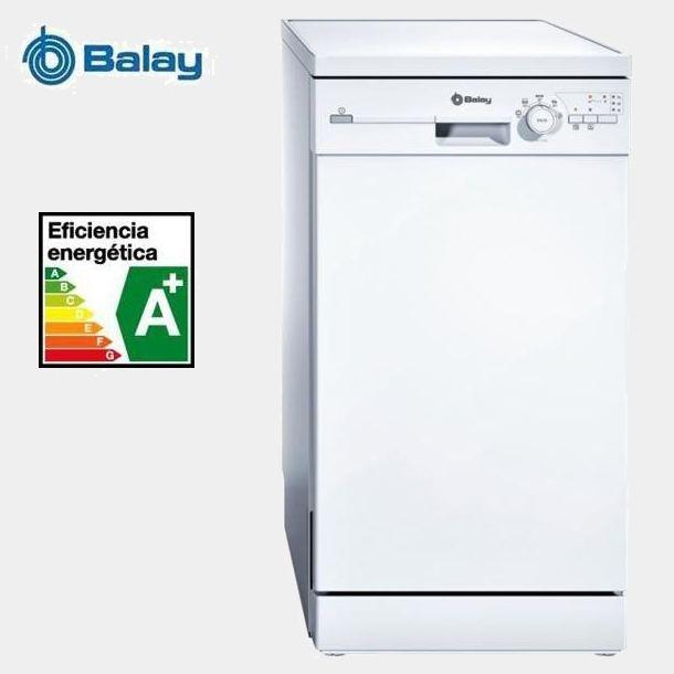 Balay 3vn303ba lavavajillas de 45cm a for Lavavajillas balay 3vn303ba