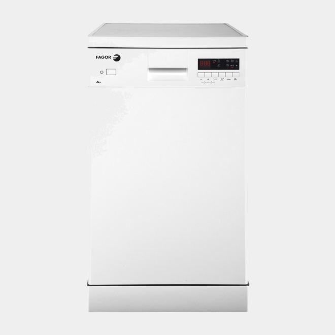 Fagor lvf455 lavavajillas blanco de 45cm a for Lavavajillas 45 cm baratos