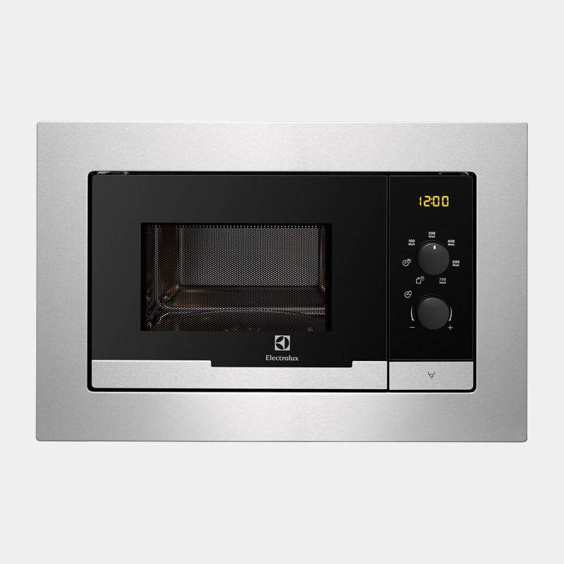 Microondas integrable electrolux emm20007ox 20l 800w for Microondas integrable