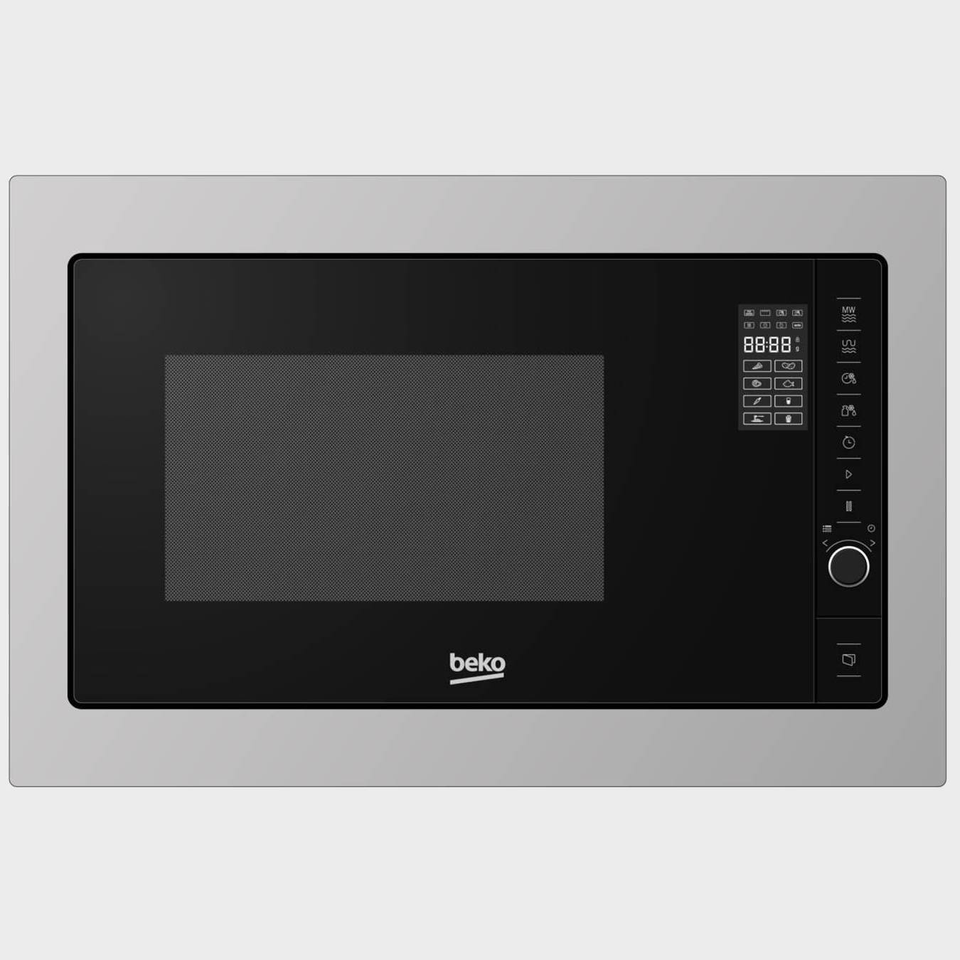 Beko mgb25332bg microondas integrable 25 ls 1450w grill for Microondas integrable