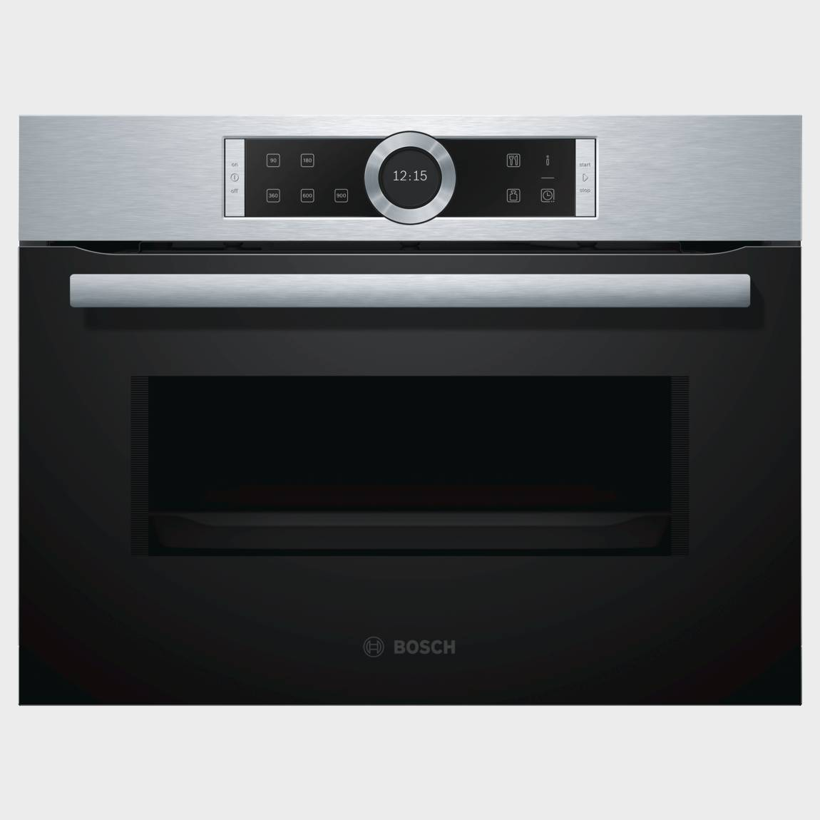 Microondas integrable bosch cfa634gs1 negro inox for Microondas integrable