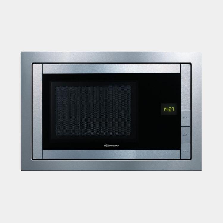 schneider smw207 microondas integrable inox de 20 ls. Black Bedroom Furniture Sets. Home Design Ideas