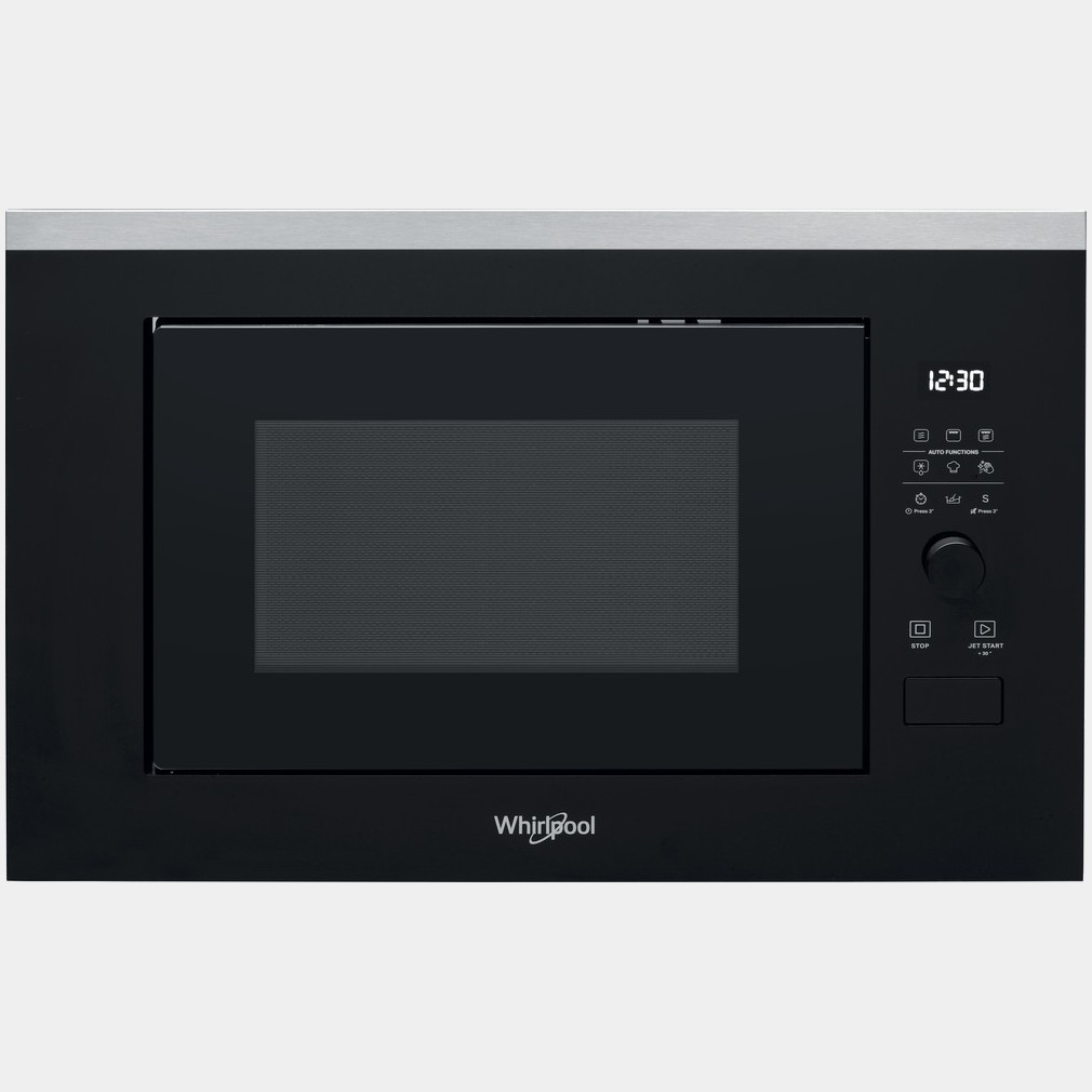 Whirlpool WMF250G microondas integrable inox con grill 25ls