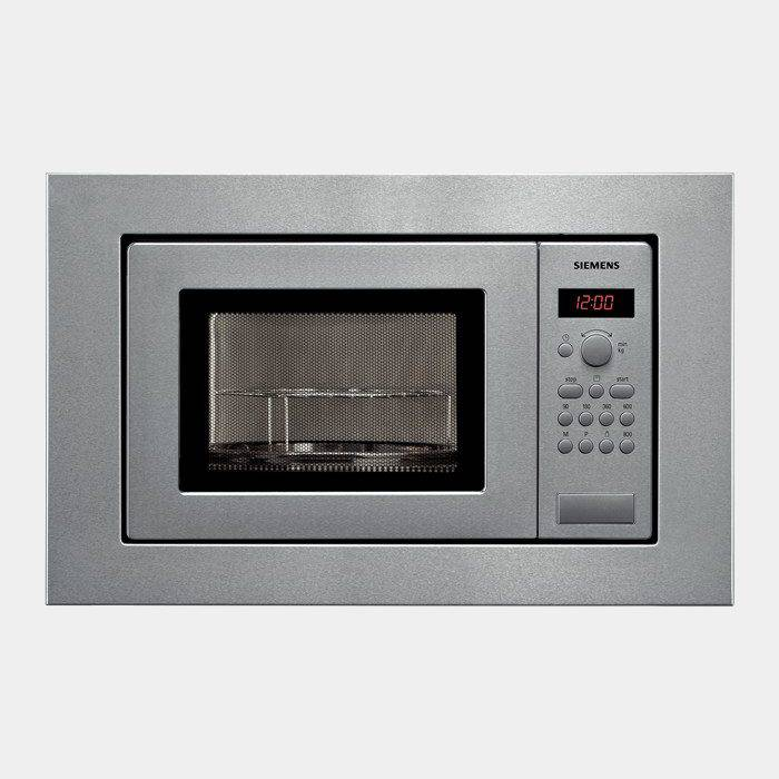 Microondas integrable siemens hf15g561 18l inox for Microondas integrable