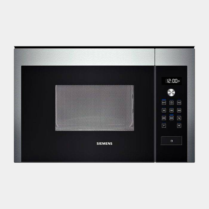 Microondas integrable siemens hf15m564 negro inox for Microondas integrable