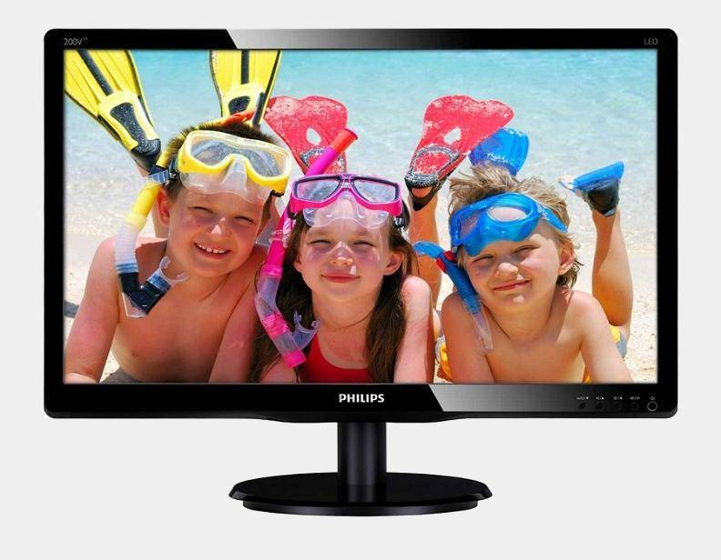 Philips 193v5lsb2 18.5 5ms monitor led