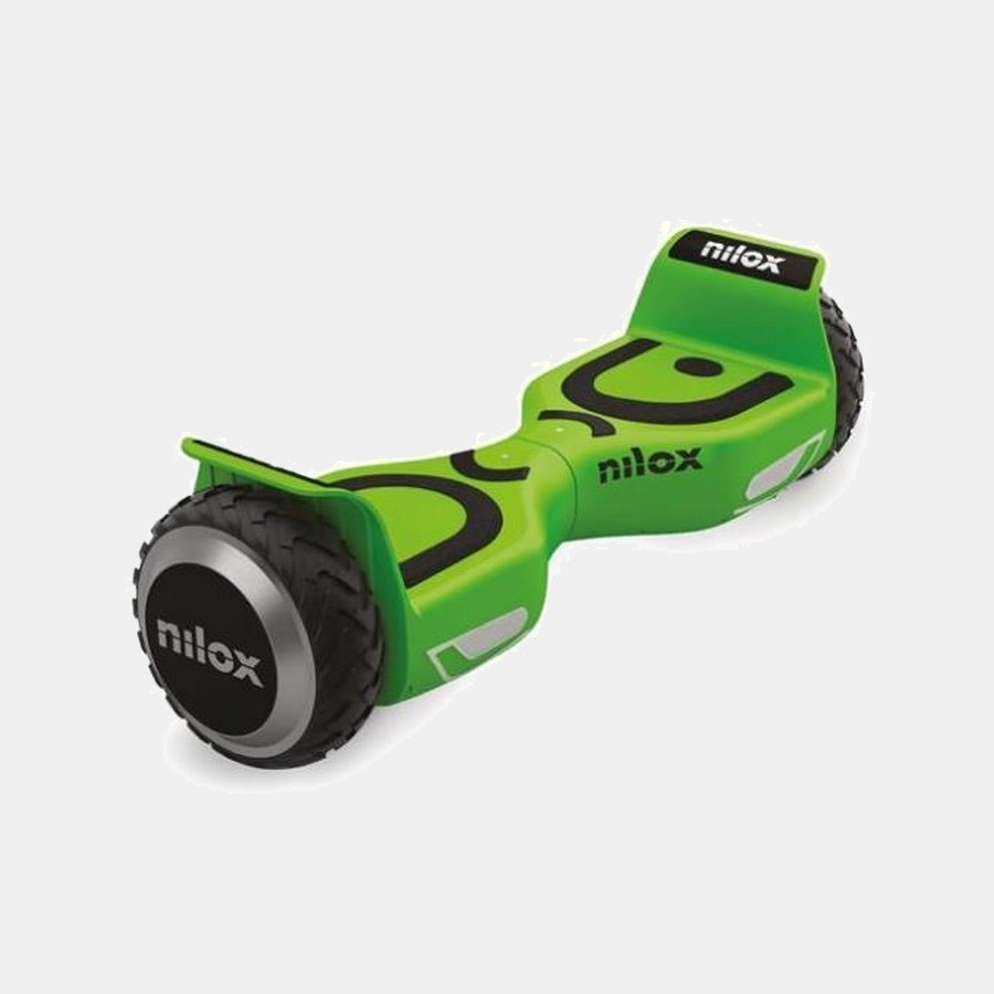 Patin Elect. Nilox 6.5 Doc 2 Hoverboard Verde Lima