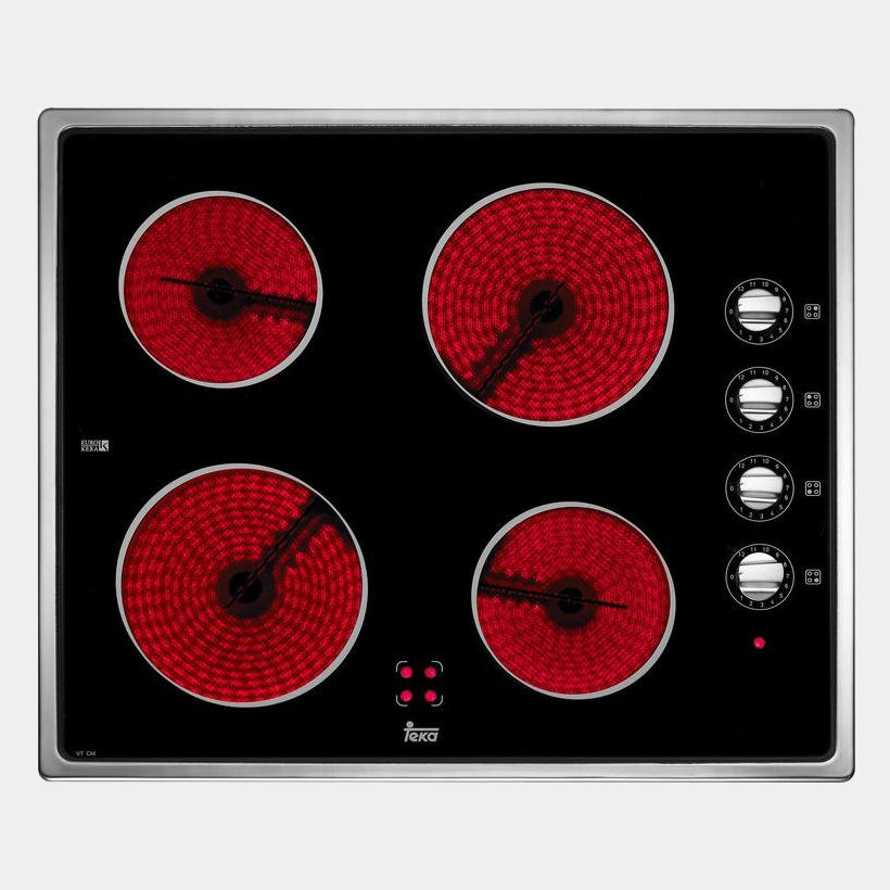 Teka vt cm placa vitroceramica inox de 4 fuegos - Placa vitroceramica teka ...