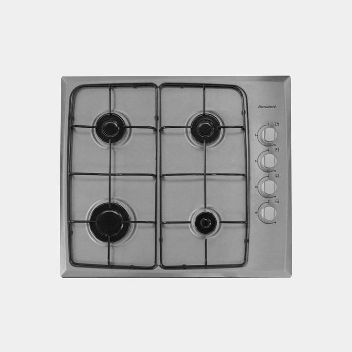 Benavent Be9140x placa de gas inox de 4 fuegos
