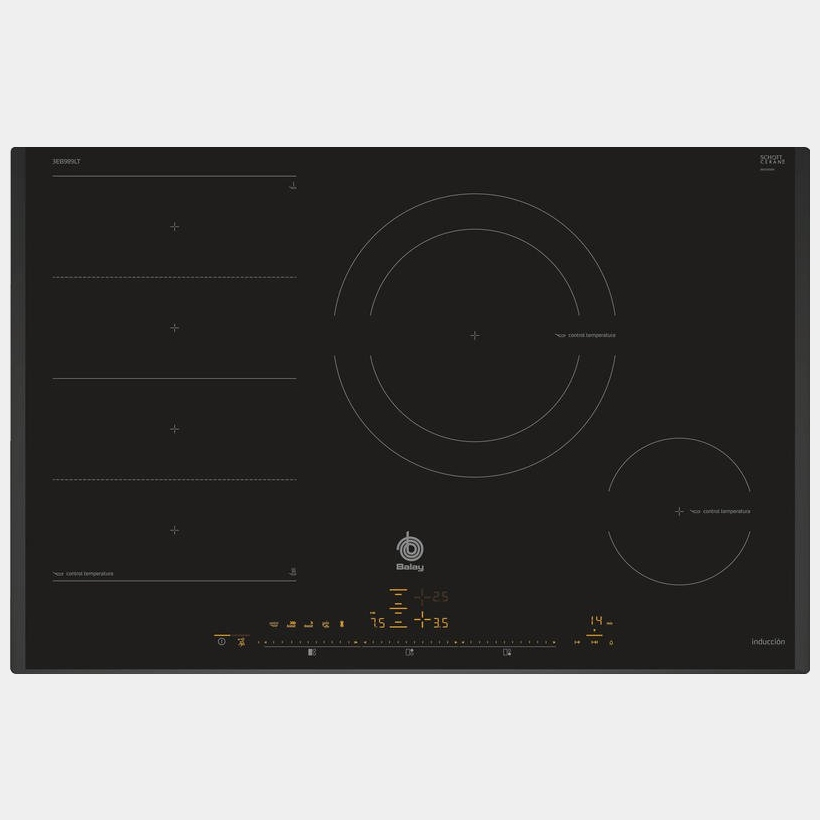 Balay 3eb989lt placa de induccion de 80 cm 3 fuegos - Cocinas de induccion balay ...