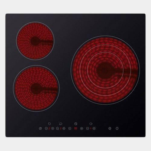 Placa vitroceramica daewoo kch631s01 de 3 fuegos for Placas de vitroceramica