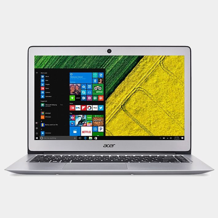 Portatil Acer Swift3 de 14 I5-7200 8Gb 256Gb SSD Silver