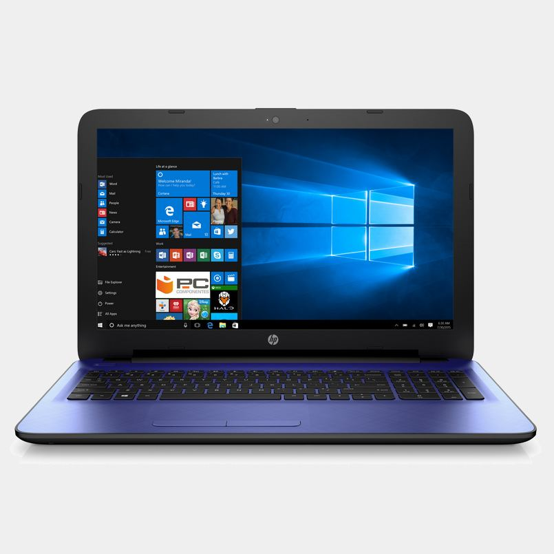 Portatil Hp 15-ba024ns azul A10 12Gb 1Tb m4402gb