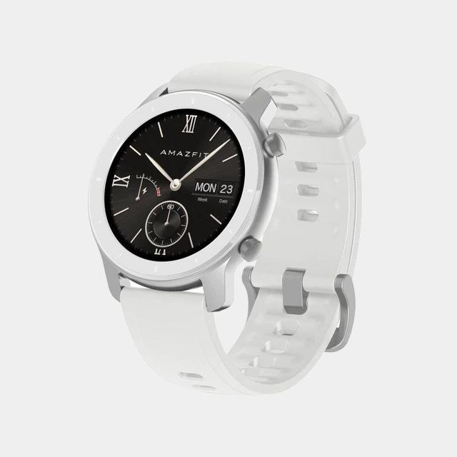 Amazfit Gtr 42mm White smartwatch