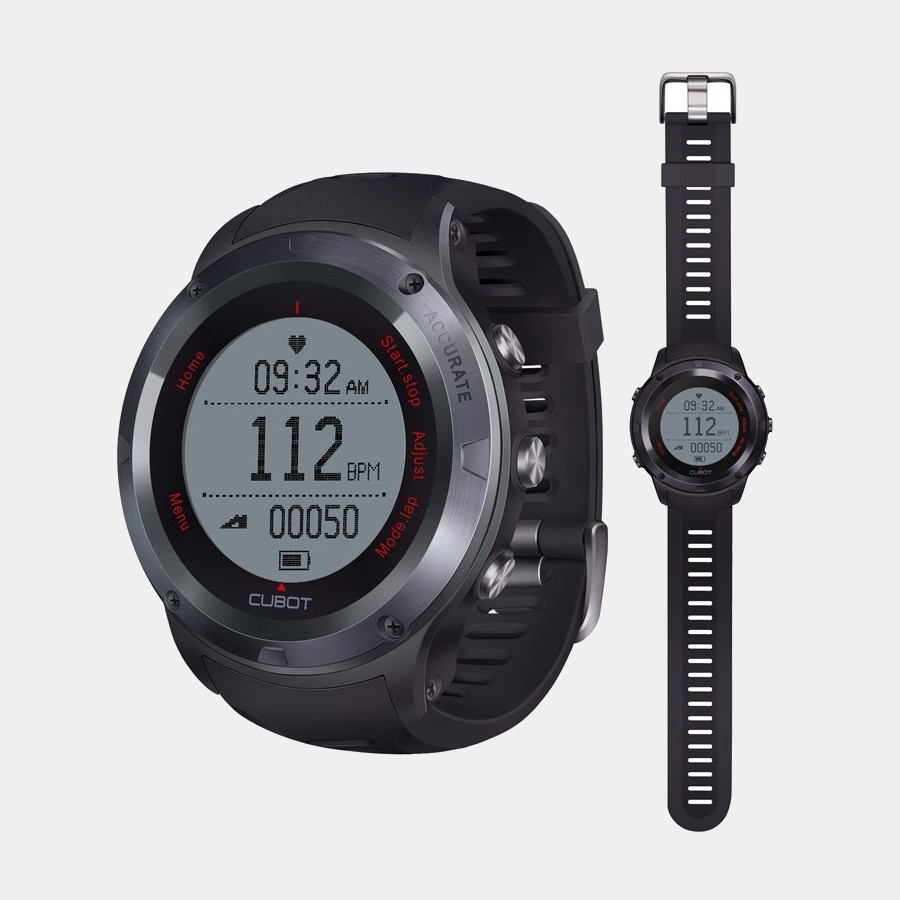 Cubot F1 smartwach Bluetooth Hr Black