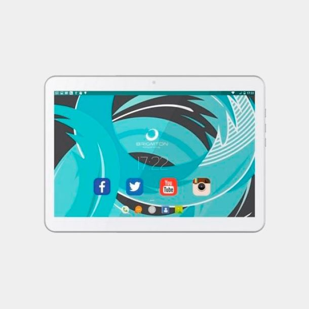 Brigmton Btpc-1021qc blanca tablet 3G quad core 1Gb 16Gb