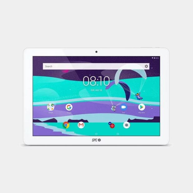 Spc Gravity Max tablet blanca de 10.1 Quad 2gb 16gb