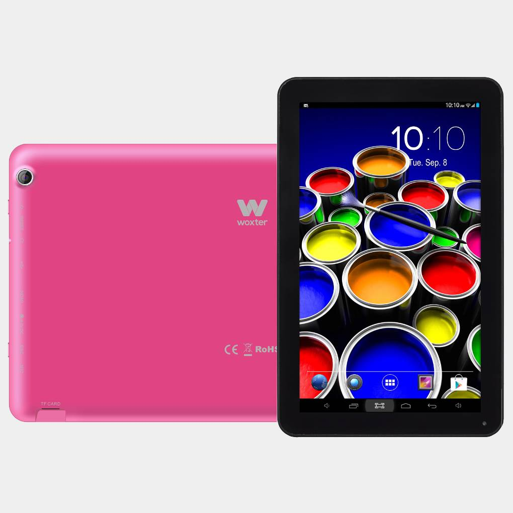 Woxter SX 100 rosa tablet de 10 HD Octa core 16gb