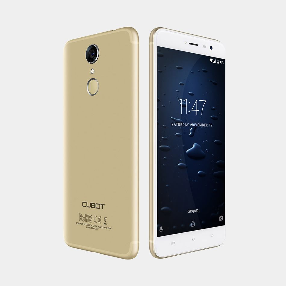 Telefono Cubot Note Plus dorado 3Gb 32Gb
