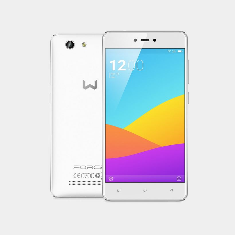 Weimei Force blanco telefono movil 5 quad core 3Gb 16Gb