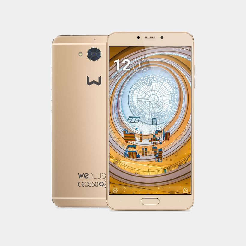 Weimei Plus 2 dorado telefono movil octa core 4Gb 64Gb