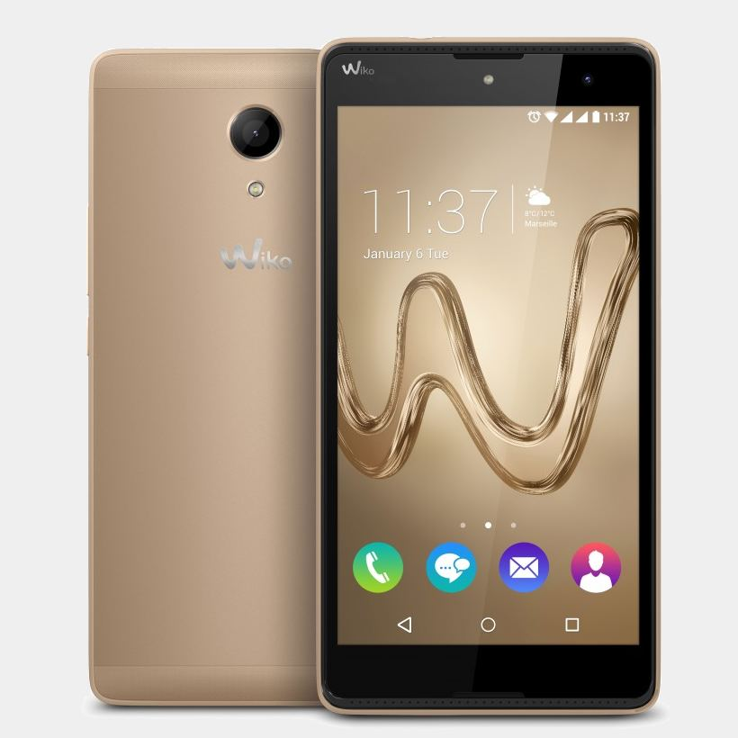 Wiko Robby Gold telefono movil 5.5 quad core 1Gb 16Gb