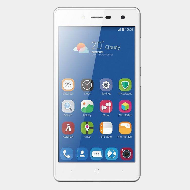 ZTE blade L7 telefono movil blanco quad core 1Gb 8gb