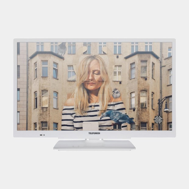 Telefunken 40DTF533W televisor blanco Full HD Smart Wifi