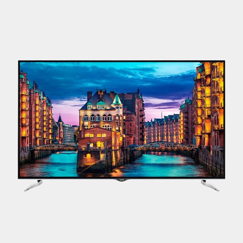 Telefunken 65dtu752 televisor Ultra HD Smart Wifi HDR