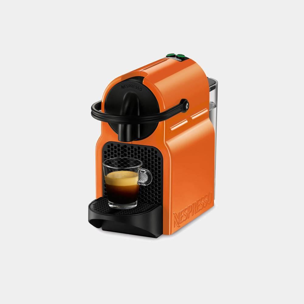cafetera nespresso delonghi en 80 o inissia naranja. Black Bedroom Furniture Sets. Home Design Ideas