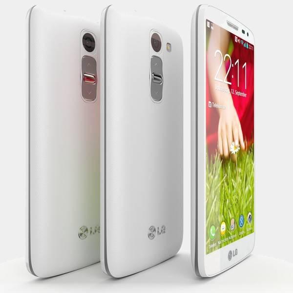 Telefono movil LG G2 Mini de perfil