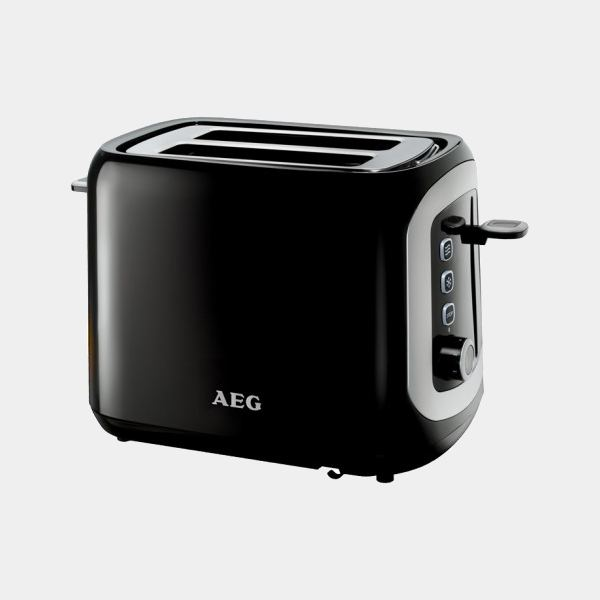 Aeg At3300 tostador de 2r Mini Negro 800w